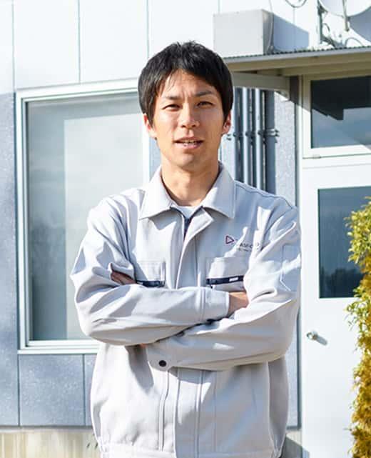 開発・設計部設計グループ 依田 光央 入社13年目